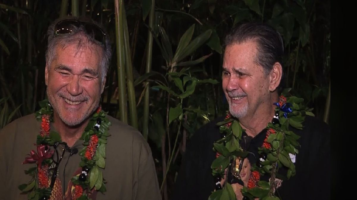 Lifelong best friends find out they are brothers (KHON)