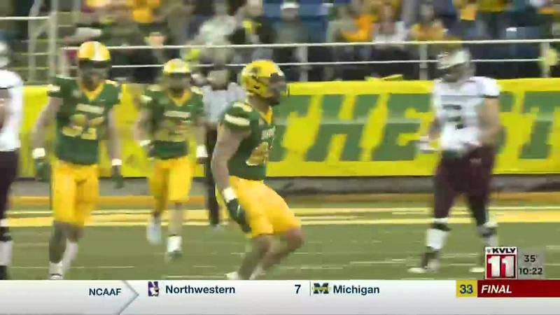 Sports - Miller, Bison Come From Behind to Beat Missouri State, 27-20
