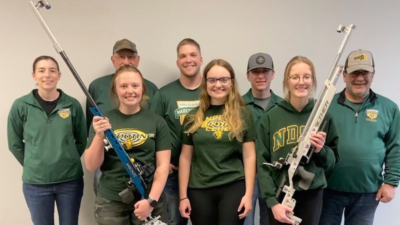 The NDSU Bison won the 2021 Intercollegiate Rifle Club Championships in Ft. Wayne, Indiana.