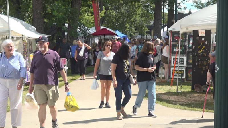Island Park was full of vendors to showcase small businesses.