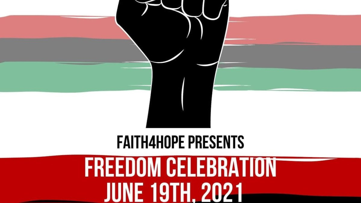 At the Juneteenth event on Saturday, June 19th from 12:00pm to 7:00pm at Lindenwood Park,...