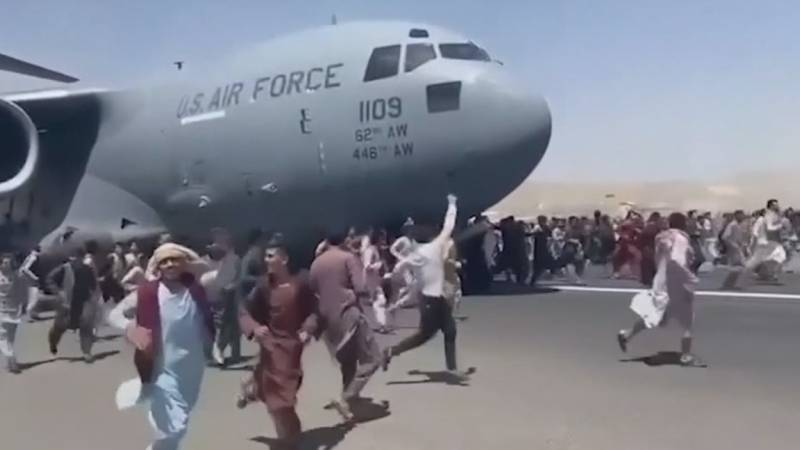 As thousands of people attempt to flee Afghanistan with the Taliban in control, some people...
