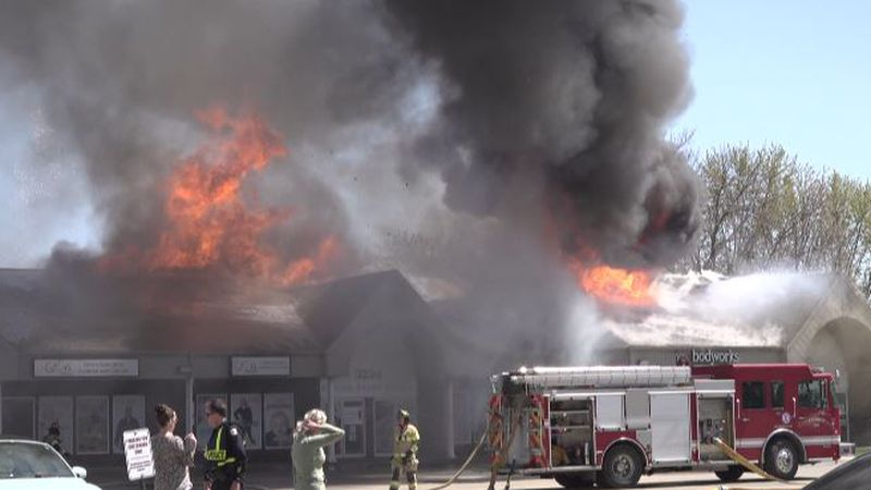 3-alarm fire at Southpointe Business Park