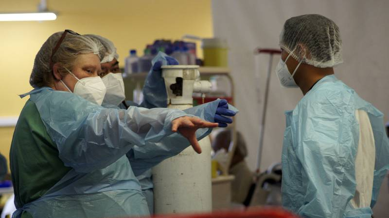 Nurses (AP Photo/Esther Cuneo)