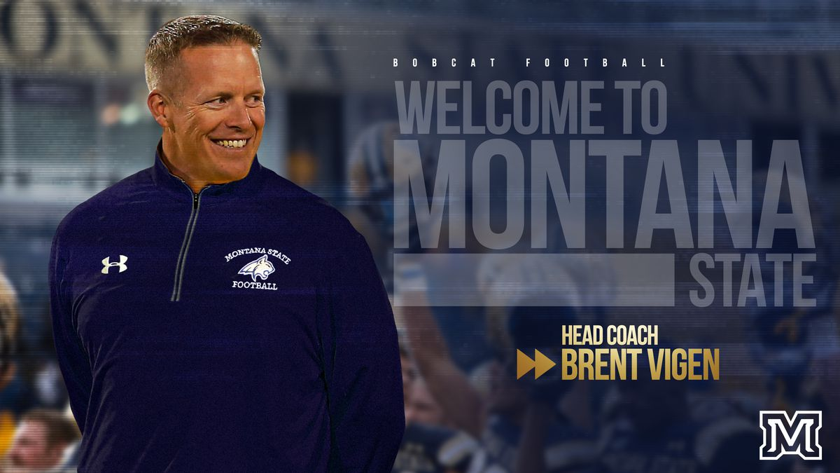 Brent Vigen names head coach at Montana State