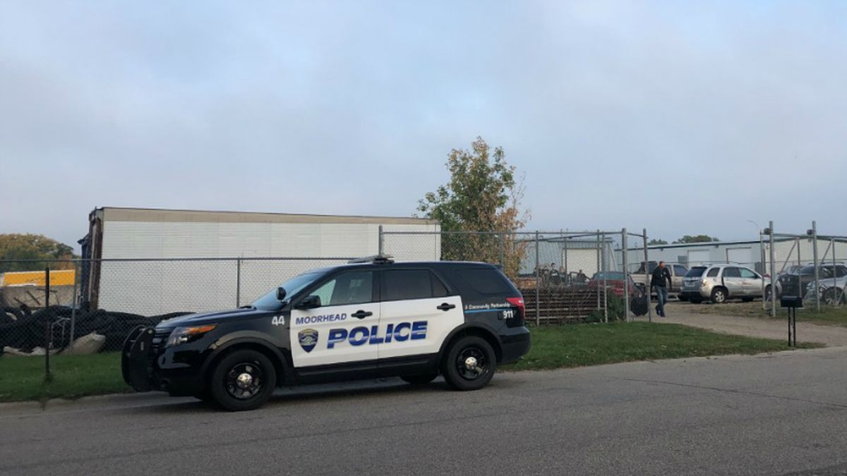 SWAT were called to help police deliver a warrant in Moorhead.