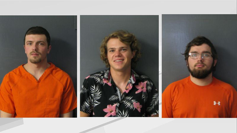 Jakob Ashline (left), Payne Drake (middle), Ryan Rudolph (right), Calvin Bjornson (not pictured)