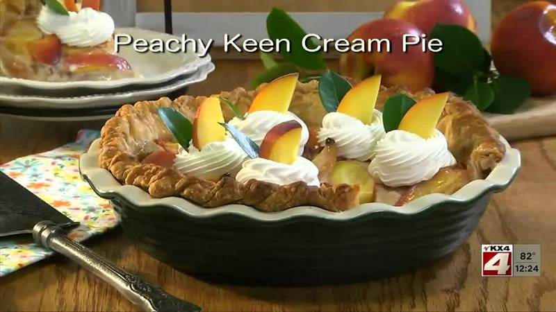 Mr. Food - Peachy Keen Cream Pie - August 3