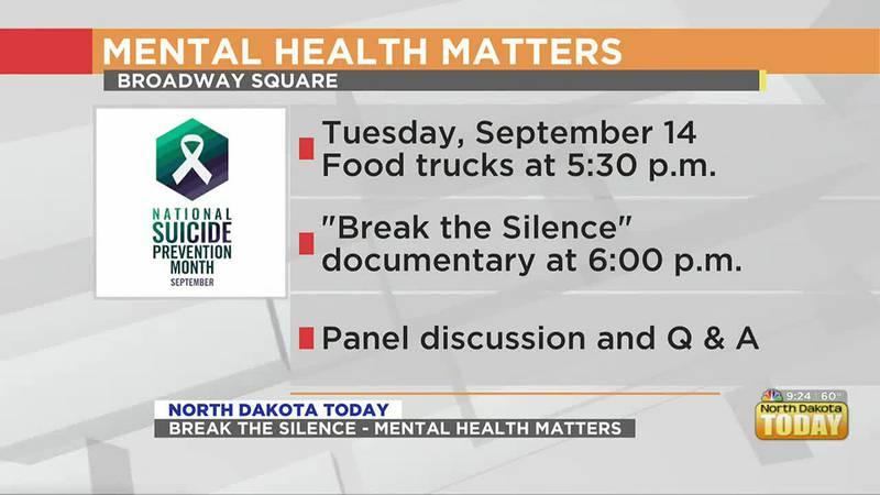 NDT - Break The Silence: Mental Health Matters - September 13
