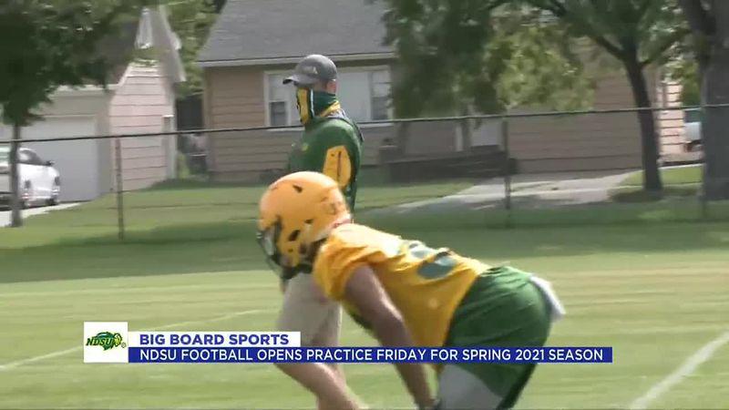 Sports - NDSU Football begins practice on Friday