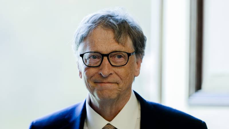 In this Tuesday, Oct. 16, 2018, file photo, Bill Gates, former CEO and co-founder of the...