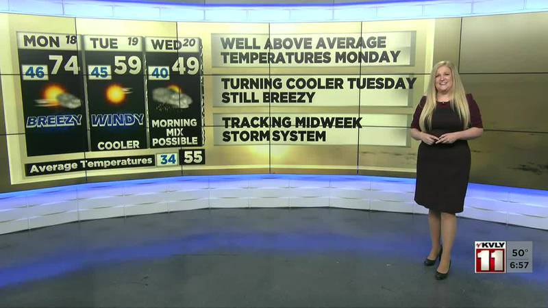 Valley Today Weather - October 18