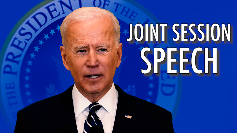 President Joe Biden is scheduled to deliver a speech to a joint session of Congress on April 28.