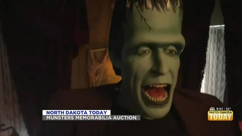 NDT - Munsters Memorabilia Auction - October 22
