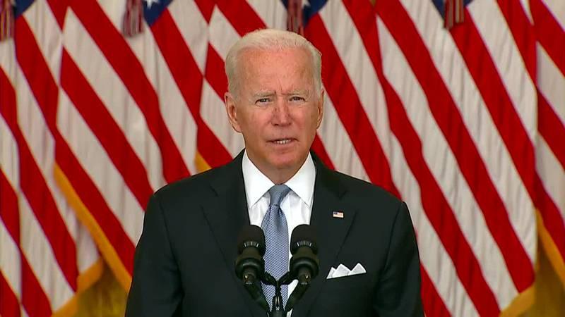 Watch live: Biden delivers remarks on Covid vaccine program