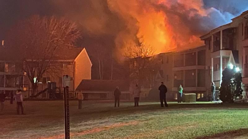 Fire crews were called to 137 Prairewood Dr. S. in Fargo.