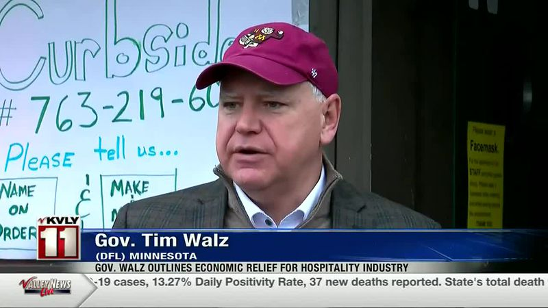 News - Gov. Walz Outlines Economic Relief For Hospitality Industry