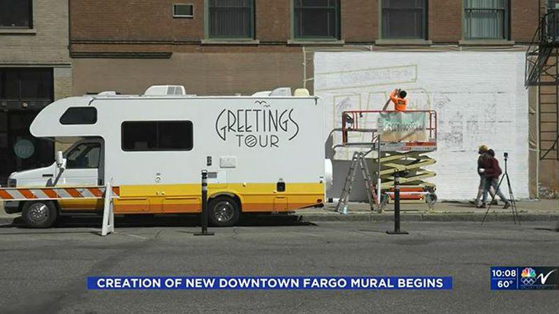 Downtown Fargo Mural