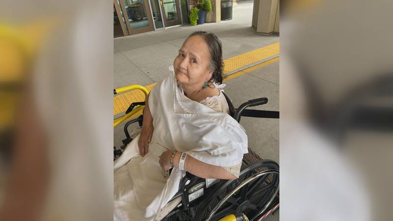 Karen Haroldson spent nearly 5 months at the hospital battling COVID-19.