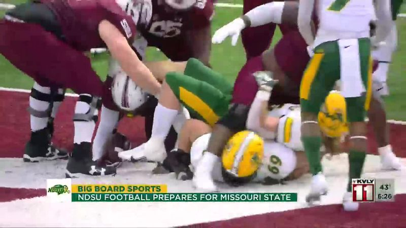 Sports - Bison Prepare For Missouri State