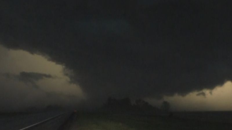 Tornado caught on camera by First Alert Storm Team Storm Chaser Eric Whitehill