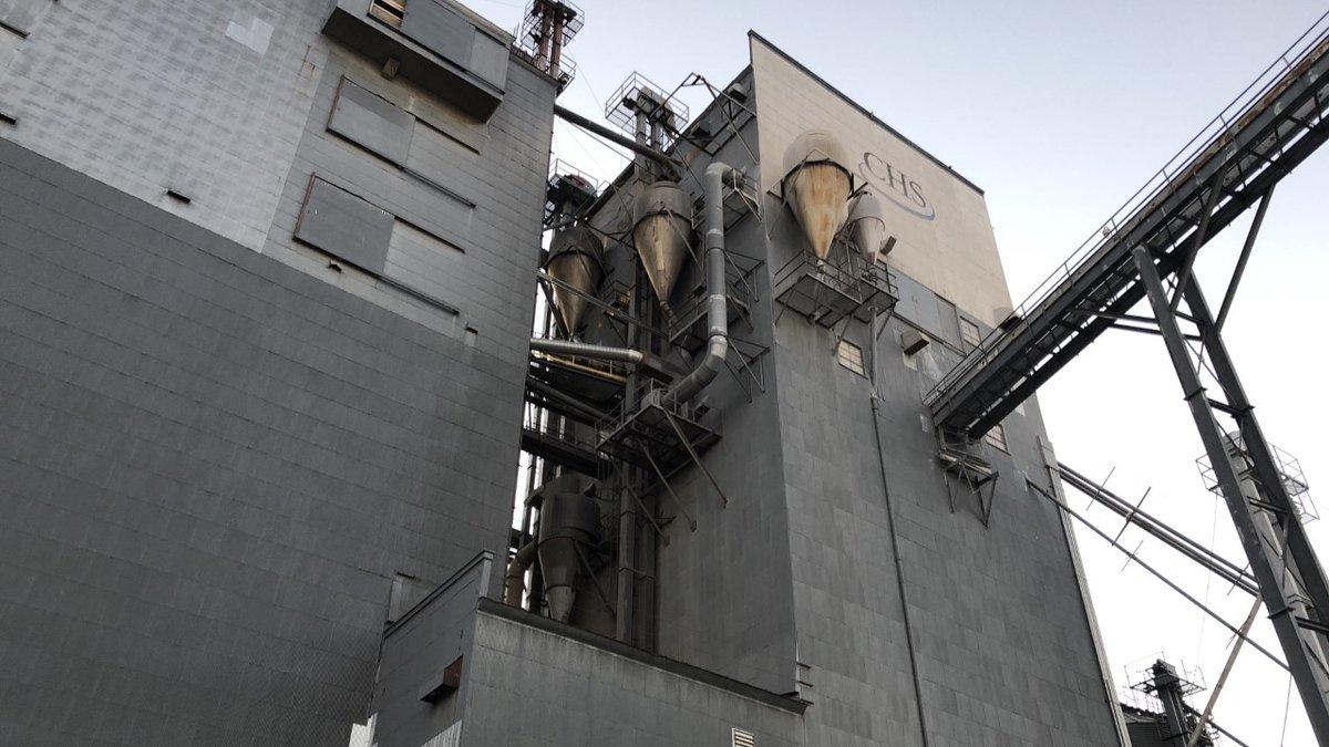 Fire caught in bin