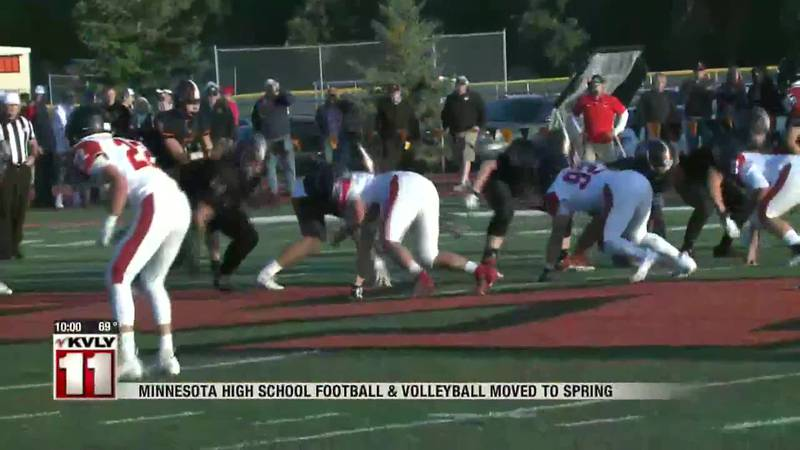 News - Minnesota High School football and volleyball moved to spring
