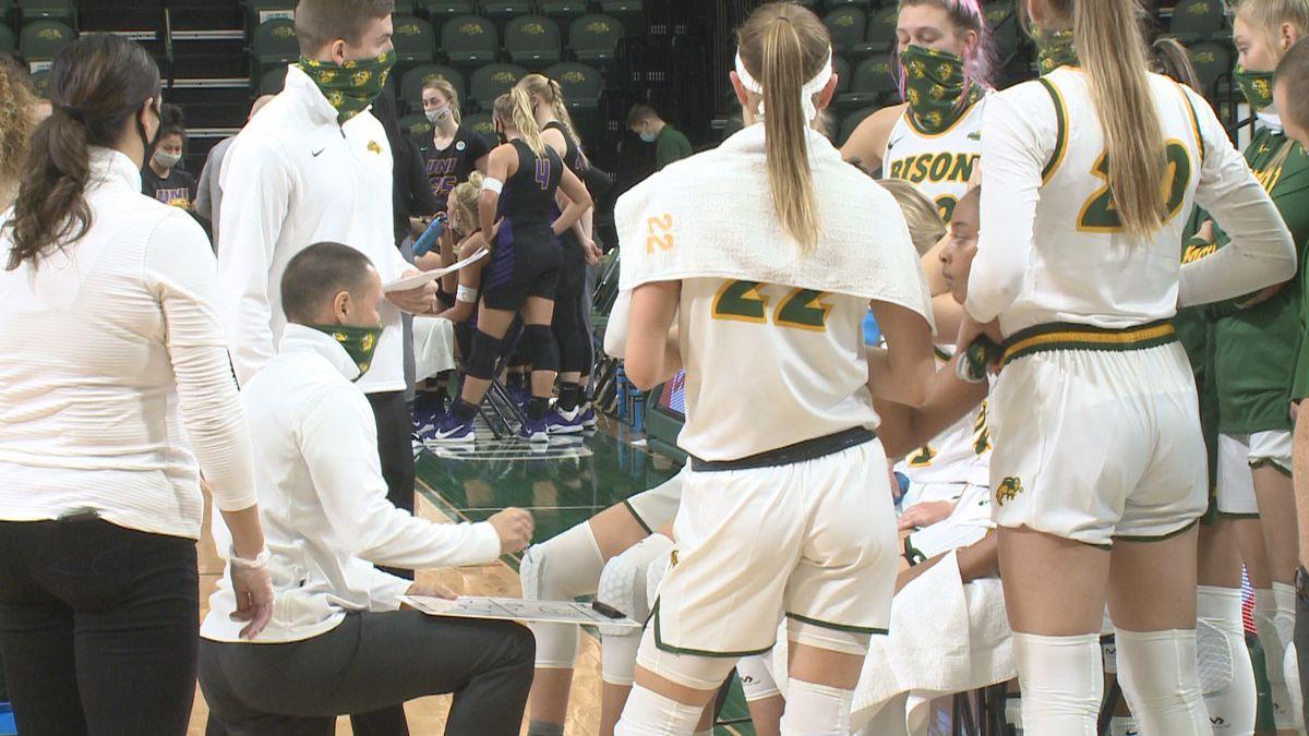 North Dakota State head women's basketball coach Jory Collins.