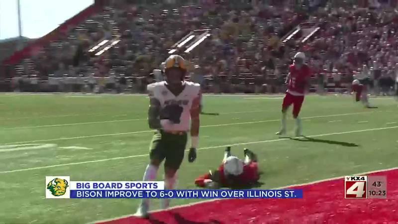 Sports - NDSU Posts Second Shutout of Season at Illinois State, 20-0