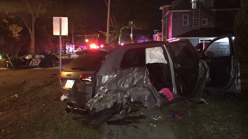 Jeep Crash in Fargo