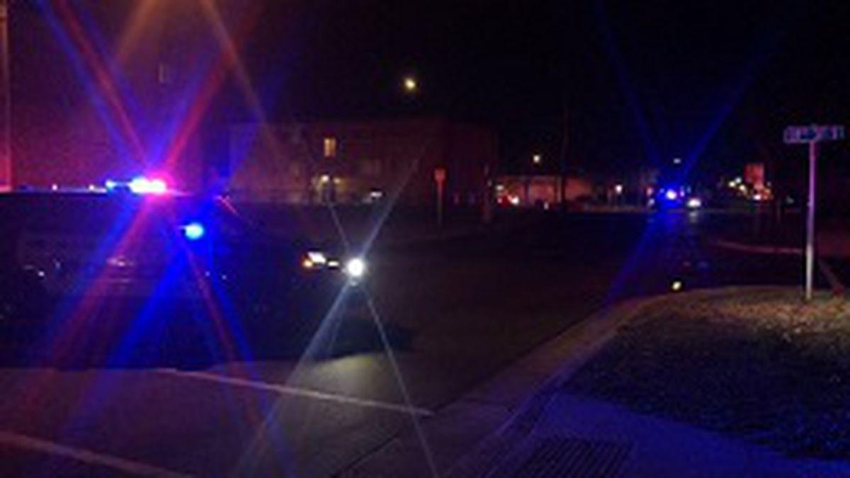 Gunshots rang out in a south Moorhead neighborhood Friday night.
