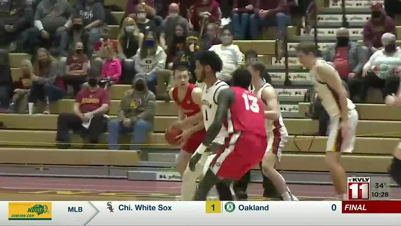 Sports - Norther State Defeats MSUM 77-64
