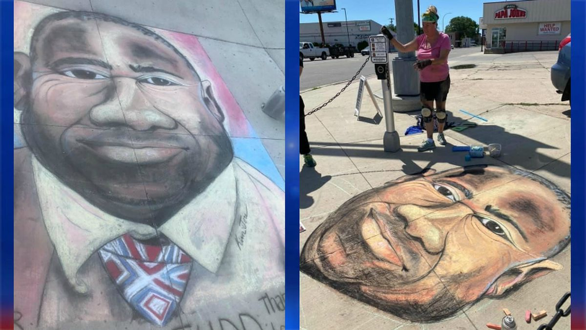 Mayor Johnathan Judd's face graces a busy Moorhead street corner