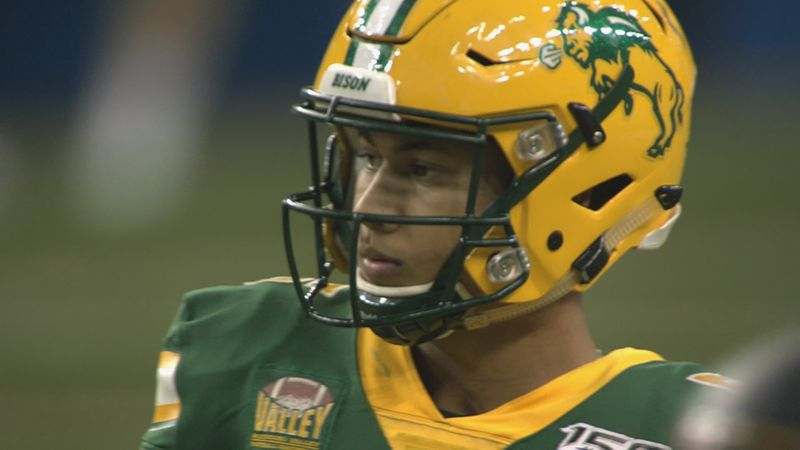 North Dakota State Quarterback Trey Lance