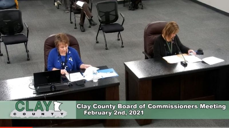Clay County Public Health says they are receiving 1,000 vaccination doses this week. 500 are...