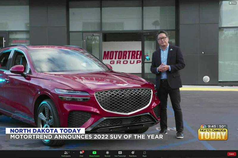 NDT - Motortrend Announces 2022 SUV Of The Year - October 18