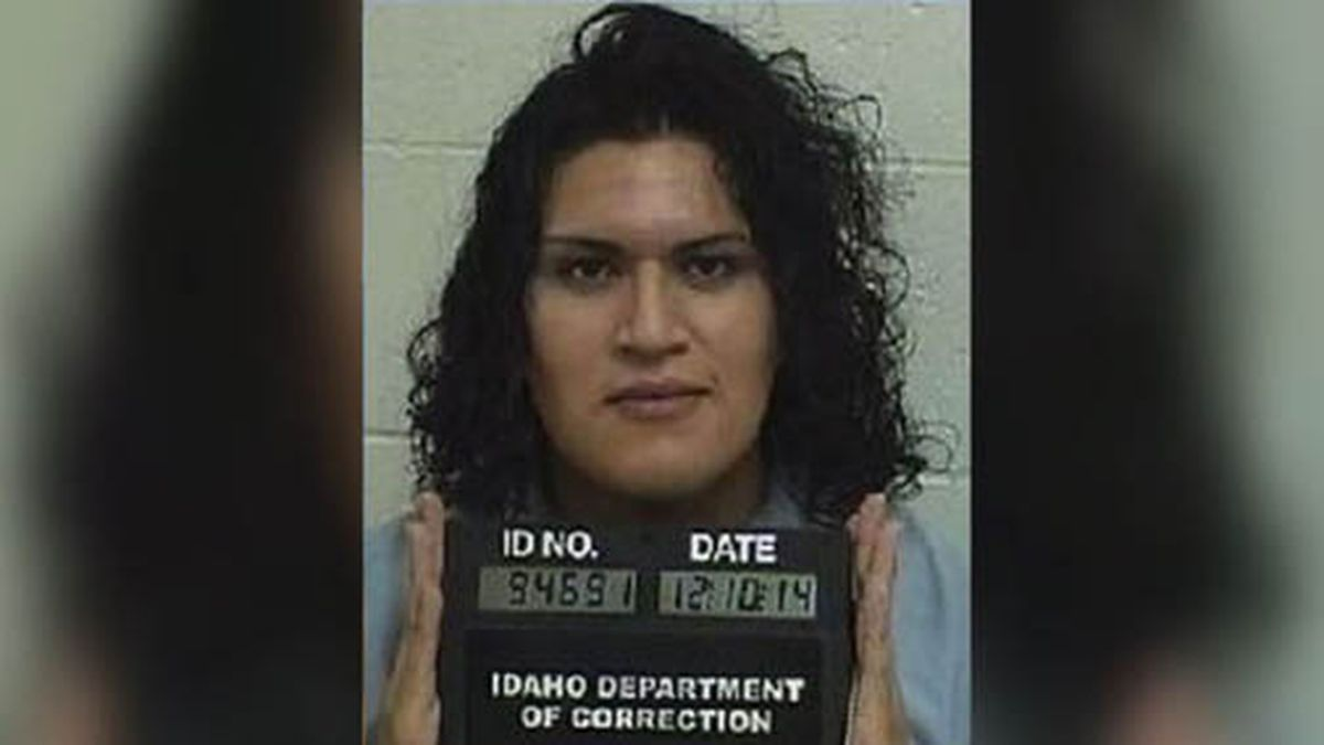 Adree Edmo, who was born male but identifies as a woman, has been serving time in a men's prison south of Boise. (Source: KIVI/Idaho Dept. of Correction/CNN)