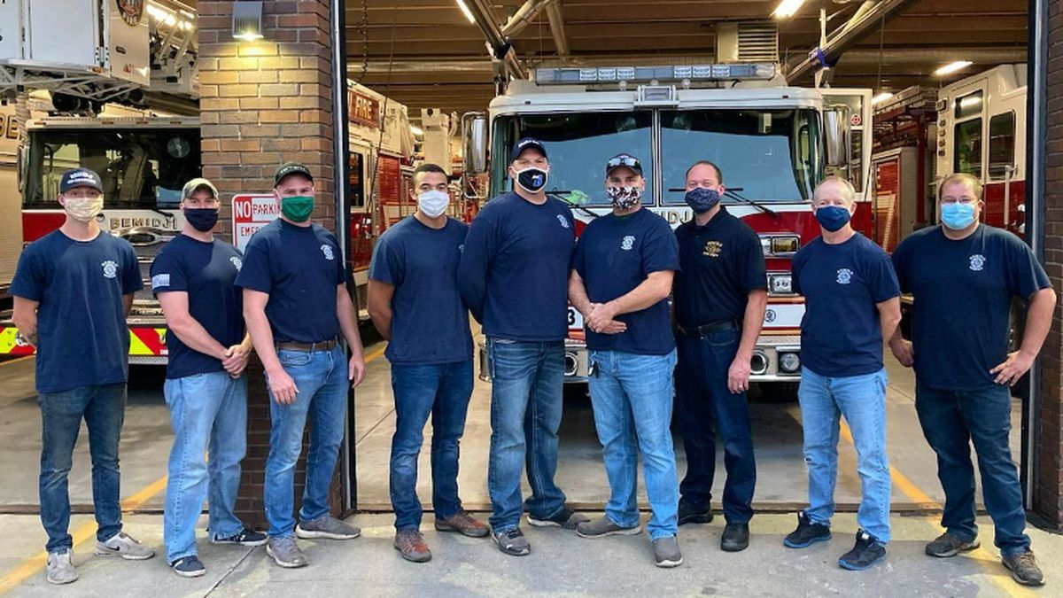This crew of nine will be going out to Oregon to help fight the fires.