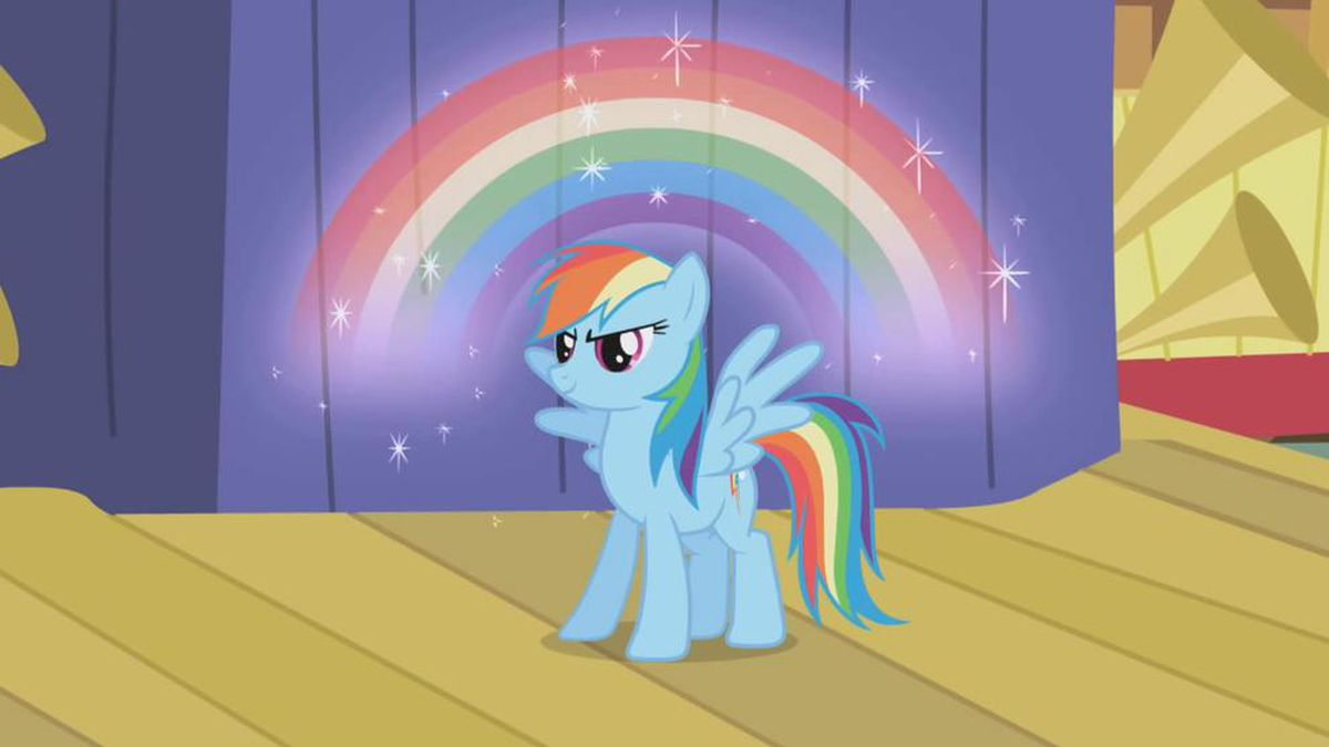 """Saturday's episode of """"My Little Pony: Friendship is Magic"""" introduces a same-sex couple."""