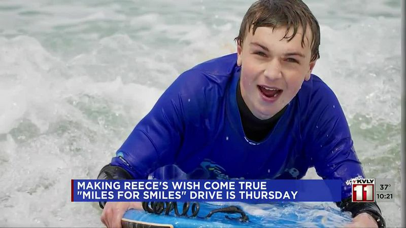 News - Making Reece's wish come true